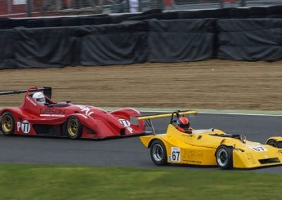 Brands Hatch - leading with 100bhp less!