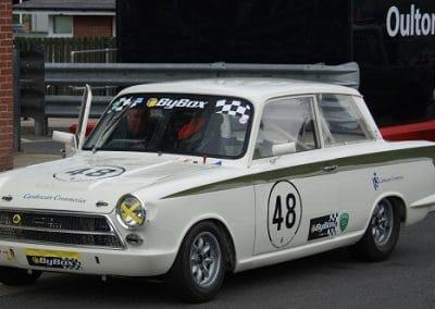 First run - Cortina Oulton Park