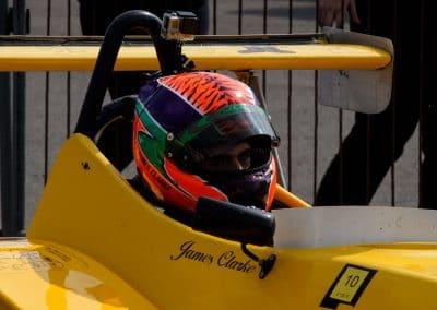 James awaiting first Clubmans race