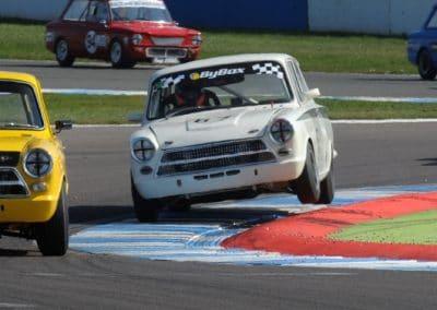 James chasing hard at Donington
