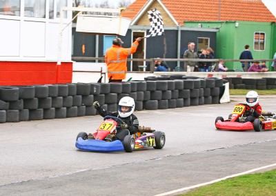 First kart win - Red Lodge 2009