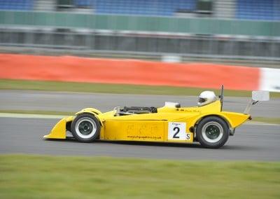 Mallock testing at Silverstone GP March 2016