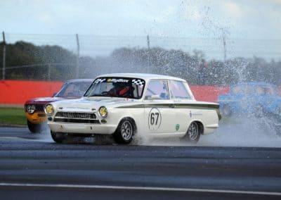 A little wet at Silverstone Finals