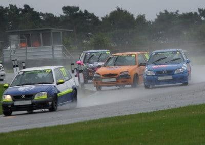 Winning in the rain - JSCC Snetterton August 2015