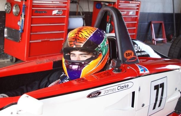 James Clarke at Silverstone April 2018